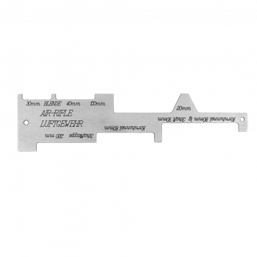 MEC Prüfschablone Air-Rifle