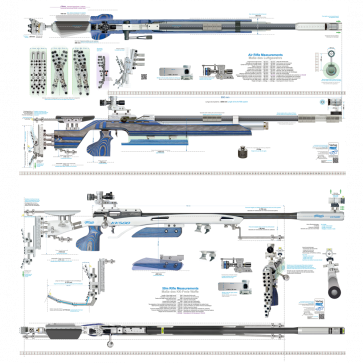 Poster Abmessungen LG und KK-Gewehr