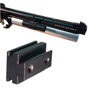 SCATT Sensor Halterung Steyr LP10/Evo10