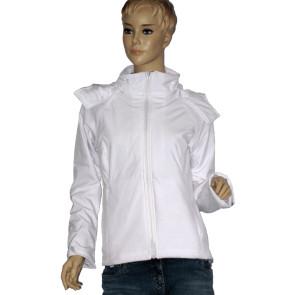 Damen Softshell Jacke Weiß